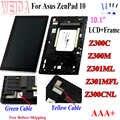 WEIDA Für Asus Zenpad 10 Z300M Z301ML Z301MFL Z300CNL 1280*800 LCD Display Touch Screen Assembly mit Rahmen für asus Z300C LCD