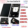 WEIDA For Asus Zenpad 10 Z300M Z301ML Z301MFL Z300CNL 1280*800 LCD Display Touch Screen Assembly with Frame for Asus Z300C LCD