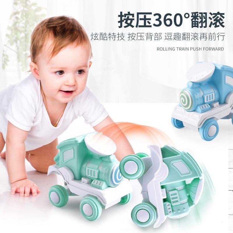 Hot Sale Rollercoaster Inertia Toy Car Press Train Stunt Suppress Car Model Children's Toys