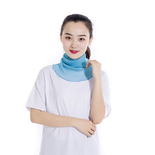 High-Jump Women's Summer Face Mask Thin Sunscreen Breathable Bandana Mask Dots Print UV Protection Face Mouth Masks Neck Gaiter(China)