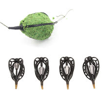 Purchase 20g/30g/40g/50g Fishing Bait Catfish Feeder With Lead Fishing Bair Basket Holder Thrower Carp Feeder Fishing Accessories new wholesale