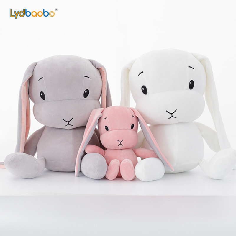 1pc 25/50cm Giant Cute Rabbit Plush Toy Stuffed Soft Rabbit Doll Baby Kid Toy Animal Birthday Christmas Valentine Gift For Lover