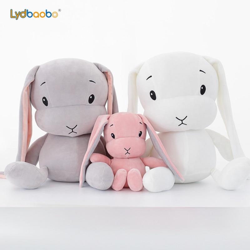 1pc 25/50cm Giant Cute Rabbit Plush Toy Stuffed Soft Rabbit Doll Baby Kid Toy Animal Birthday Christmas Valentine Gift For Lover