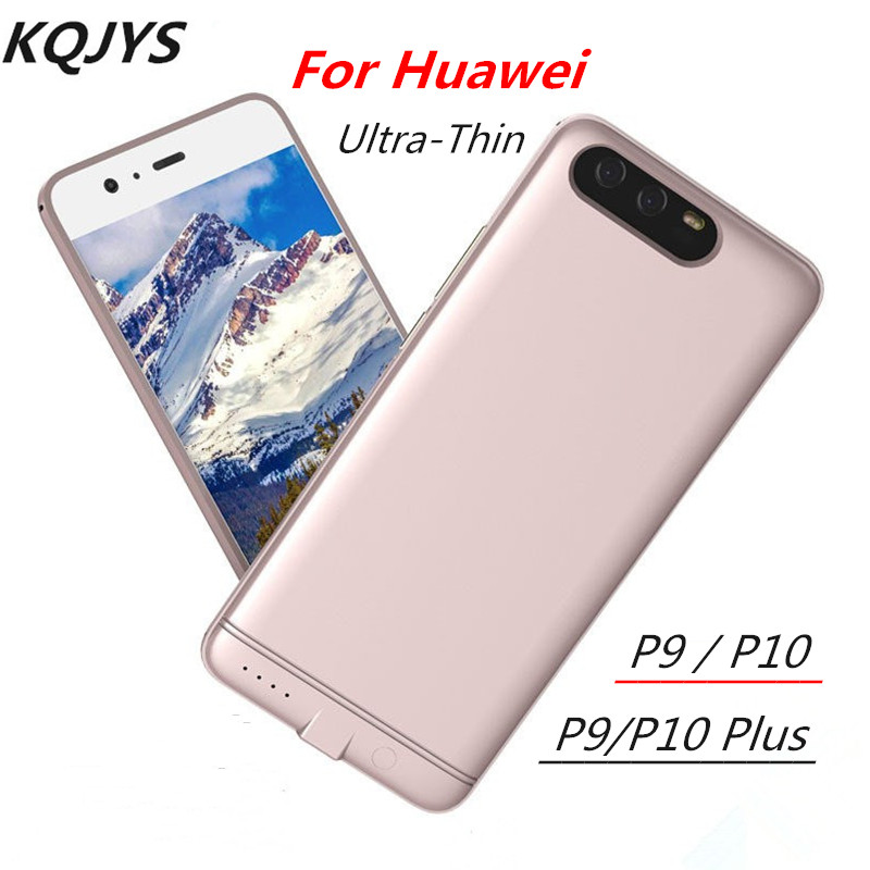 KQJYS 6000mAh Ultra-Thin Portable Back Clip <font><b>Battery</b></font> For <font><b>Huawei</b></font> P9 <font><b>P10</b></font> Plus Metal Edge Mobile Power Box For <font><b>Huawei</b></font> P9 <font><b>P10</b></font> image