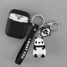 Silicone-Case Bluetooth-Earphones Apple Airpods Animal Panda Rabbit Cartoon Case-Accessories