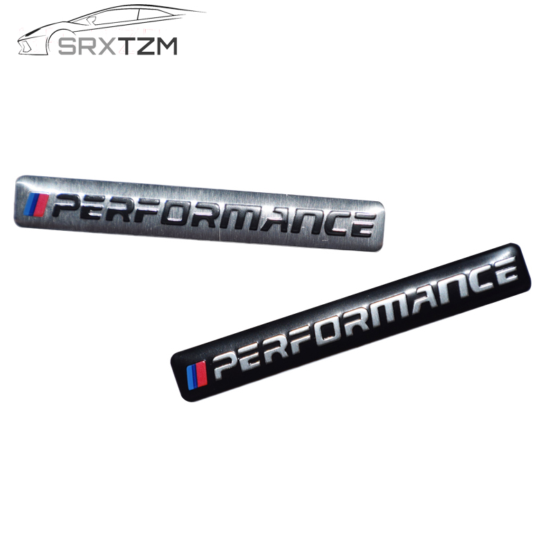 SRXTZM новая наклейка для машины Performance Motorsport металлический значок из алюминия для BMW E34 E36 E39 E53 E60 E90 F10 F30 M3