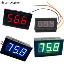 DIY Mini Voltmeter Tester Digital Voltage Test Battery DC 0V-99.9V 3-Wire Family Essential Electroni