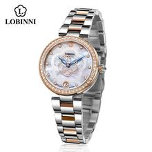 LOBINNI Mechanical Women Watch Fashion Switzerland Luxury Br