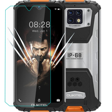 Smartphone 9H Tempered Glass for Oukitel WP6 GLASS Protective Film for Oukitel WP6 Screen Protector cover