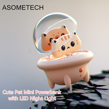 Power-Bank Battery-Case-Charger Night-Light Huawei iPhone External Mini Cute for 12-pro/12/Mini