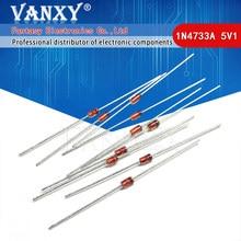 100PCS 1W 5.1V 1N4733A 5V1 1N4733 FAZER-41 diodo Zener