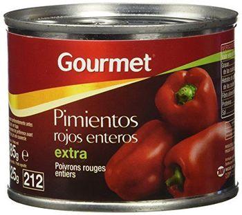 Gourmet - Pimientos Rojos Enteros - Extra - 125 g - [Pack de 12]