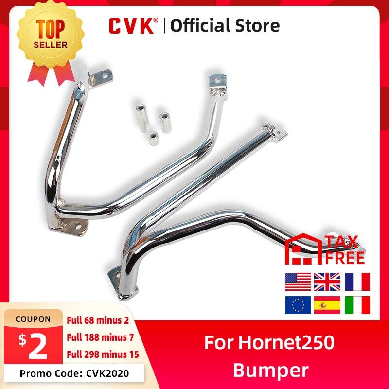 CVK Motorcycle Engine Frame Protector Metal Tube Guard Rail Crash Bar Fence Bumper for Honda Hornet250 CB hornet 250 600 900 919