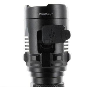 Image 5 - Ücretsiz kargo NITECORE MH20 1000 lümen CREE XM L2 U2 CRI LED su geçirmez Torch USB şarj edilebilir el feneri olmadan 18650 pil