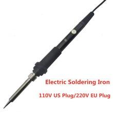 цена на 110V 220V 60W US/EU Plug Electric Soldering iron Adjustable Temperature welding Solder iron Heat Pencil Welding Repair Tool
