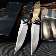 ZT 0640 G10 handle Pocket Folding Knife CPM20CV Rescue Survival  Hand tools Outdoor Camping EDC Tactical Huinting knife CS GO