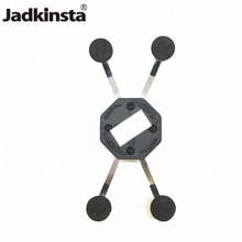Jadkinsta Camera Ball Holder Mobile Phone Cradle Holder for Universal X Grip Cellphone with 1 Inch Ball Mount