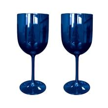 Goblet Plastic Glassware Cocktail-Glass Champagne Flutes Wine-Cup 2 2pcs Party