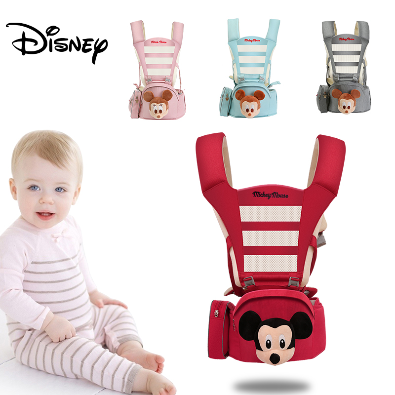 Disney 0 48M Ergonomic Baby Carrier Infant Baby Mommy Carrier Front Facing Ergonomic Kangaroo Baby Wrap Sling for Baby Travel|Backpacks & Carriers| |  - title=