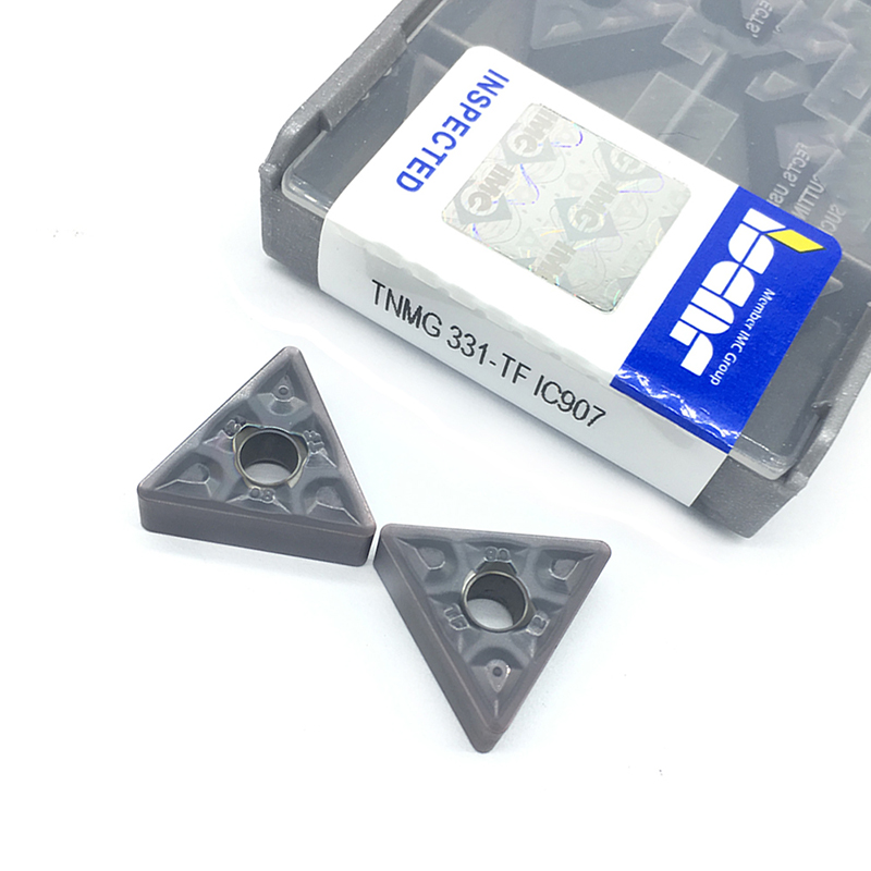 20PCS TNMG160404 TF IC907/ IC908  External Turning Tools TNMG 160404 Carbide Inserts Lathe Cutter Cutting Tool CNC Tools