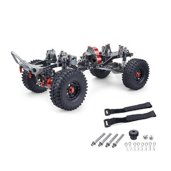 Retail RC Racing CNC Aluminum Metal and Carbon Frame for RC Car 1/10 AXIAL SCX10 Chassis 313Mm Wheelbase Vehicle RC Crawler Cars