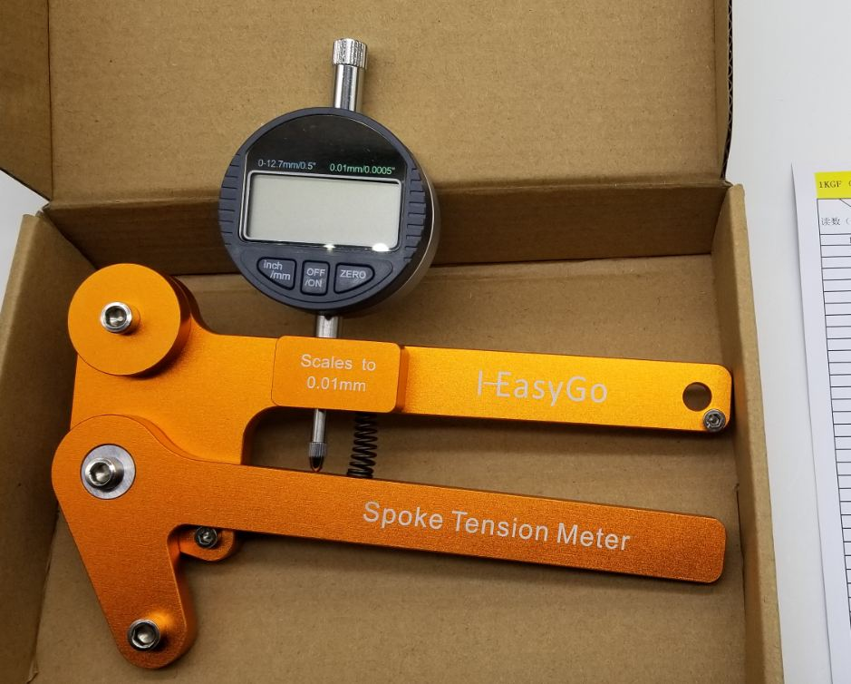 Bike Accessories Indicator Attrezi Meter Tensiometer Bicycle Spoke Tension Wheel