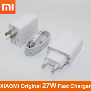 Original XIAOMI Mi9 Mi 9 Fast Charger QC4.0 27W Fast Charge Adapter Type C Cable For Mi 9 8 SE 9T 6 A2 A1 5 Redmi Note 7 K20 Pro(China)
