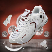 Unisex Sneakers Men Badminton Shoes Anti-slippery Training Sneakers Lace-up Ligh