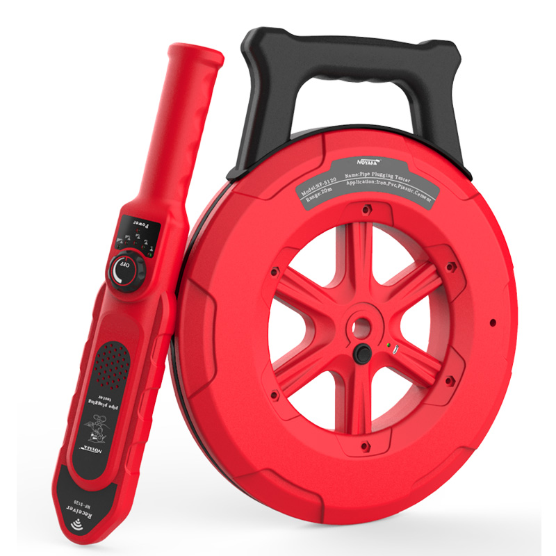 NOYAFA Pip Iron Pipe Blockage 5140 Diagnostic-tool Scanner Pipeline Blocking Clogging Plumbers Instrument