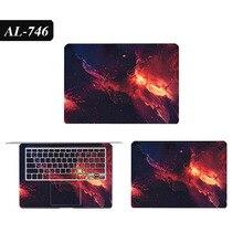 Ноутбук наклейки для MacBook 13 A1278 A1708 A1706 окрашенные виниловые новый воздушный A1932 обложка