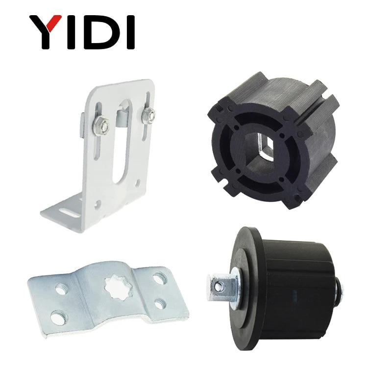 universal part kit wall motor bracket idler drive adapter for roller blind shutter curtain hardware accessories tubular motor