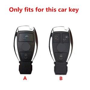 Image 2 - TPU araba anahtarı durum kapak için Mercedes Benz W203 W210 W211 W124 W202 W204 W212 W176 AMG aksesuarları anahtarlık tutucu anahtarlık