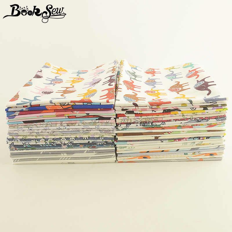 Booksew Ankara Stof Patchwork Naaien Jelly Roll Strip 100% Katoen Bloemen Cartoon Dier 5X50 Cm Telas Tissu diy Ambachten