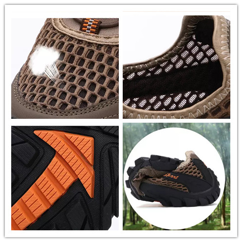 Image 4 - Water Shoes Sneakers Men Non Slip  Beach Sandals Upstream Aqua Shoes  Quick Dry River Sea Slippers  Hiking Climbing  Shoes SeasiUpstream Shoes   -