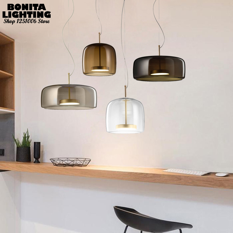 Glass Hanging Lights For Dining Room Nordic Led Pendant Lights For High Ceiling Bedside Simple And Stylish Cord Pendant Lamp Special Price E23c Cicig