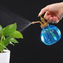 1pc Antique Pot Shaped Plant Flower Watering Spray Bottle Garden Hairdressing Sprayer