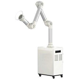Unidade de sucção para aerosol, unidade oral externa de sucção com 4 camadas + uvc