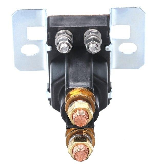 Contacteur portatif de moteur de chariot élévateur disolateur de cellules de relais de cc de grand courant de 24V 500A