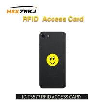 5 шт./лот RFID 125 кГц T5577 записываемый EM4305 анти-металлические помехи мультфильм метки наклейки близость карты Этикетка для RFID копировальный аппарат