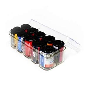 Image 3 - Caja de almacenamiento de película de plástico duro multiformato, 6 colores, 2019, 35mm, blanco y negro, 4x5, funda de película, novedad de 135