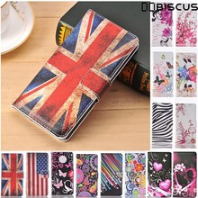 Fashion Retro Leather Flip Wallet Soft TPU Case For iPhone 6S 6 S Plus Cover Love FLower Butterfly For iPhone 6Plus 6SPlus Cases(China)