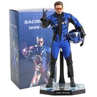 HC Avengers Marvel ironman Iron Man Racing Suit Tony Stark Statue Iron Studios PVC Action Figure toy Movie Collection Model Doll