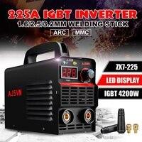 220V ARC IGBT Inverter Adjustable 20A 225A 4200W Handheld Arc Electric Welding Machine Digital Display Portable Welding Tool