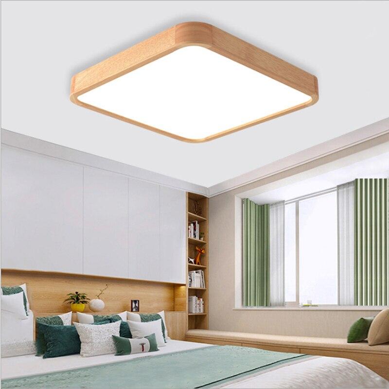 moderna placa luz sala estar quadrado lâmpada