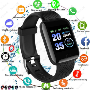 2020 Smart Watches Men Women's Smartwatch Blood Pressure Measurement Heart Rate Monitor Fitness Bracelet Watch For Android IOS