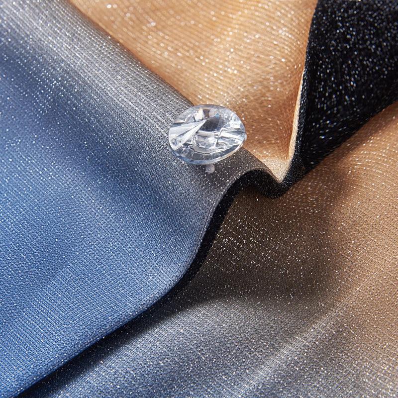 Image 4 - PYJTRL Mens Fashion Gradient Color Shiny Gold Blue Champagne Pink Black Slim Fit Blazer Stage Singer Prom Dress Suit Jacket-in Blazers from Men's Clothing
