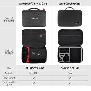 Image 2 - Vamson Kit de accesorios para Cámara de Acción, funda carcasa impermeable para Go Pro Hero 8, accesorio para Cámara de Acción VS156