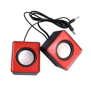 Image 3 - Kebidu Portable USB 2.0 multimédia ordinateur de bureau Portable Mini haut parleur Portable musique stéréo Home cinéma haut parleur de fête 3.5mm