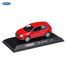 WELLY  1:43 vw GOIF GTI car alloy model simulation decoration collection gift toy Die casting boy