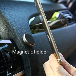 Круглый Магнитный мобильный телефон держатель в автомобиль для автомобильное крепление подставка многофункциональный держатель телефона применяется к iPhone Samsung Xiaomi Подставки и держатели      АлиЭкспресс